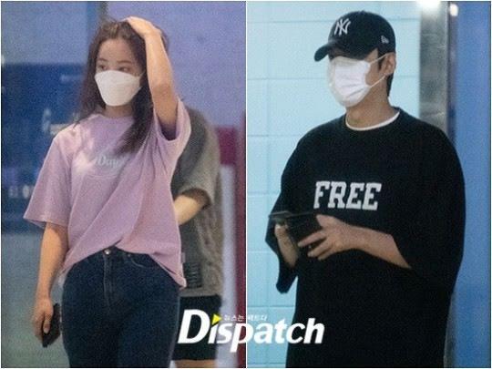 Dispatch asegura que Lee Min Ho y Yeonwoo de MOMOLAND están saliendo