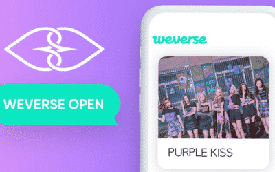 Purple Kiss se une a Weverse