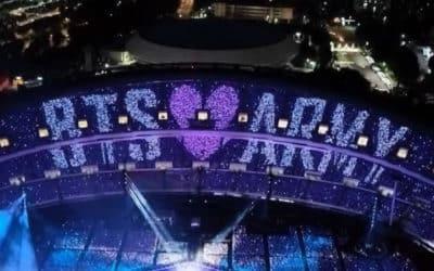K-ARMY esta celosa por el primer concierto presencial de BTS