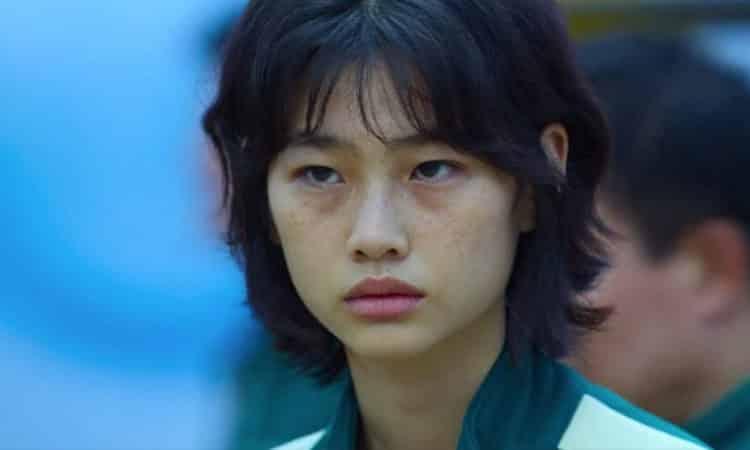 "Jung Ho Yeon de ""Squid Game"" o ""El juego del calamar"" de Netflix"